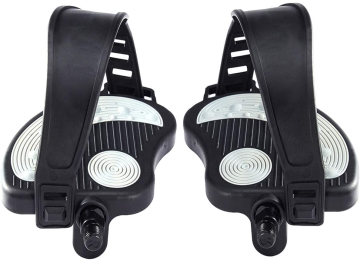 Beyoung Exercise Bike Pedals with Strip